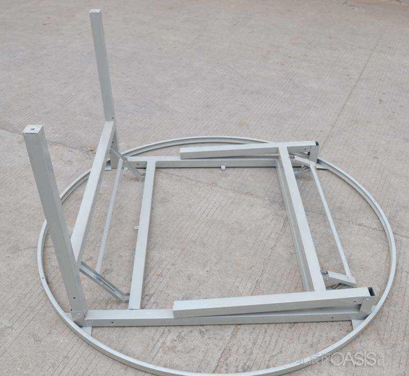折叠快餐桌椅展示