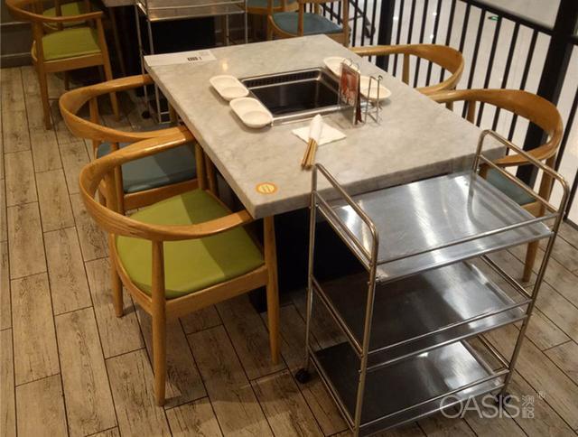 火锅桌椅,无烟火锅桌椅,餐厅家具厂家