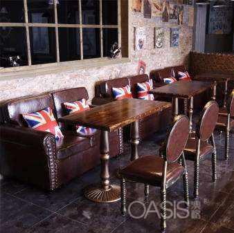 西餐厅桌椅如何配置搭配
