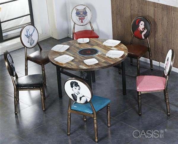 火锅店一套桌椅