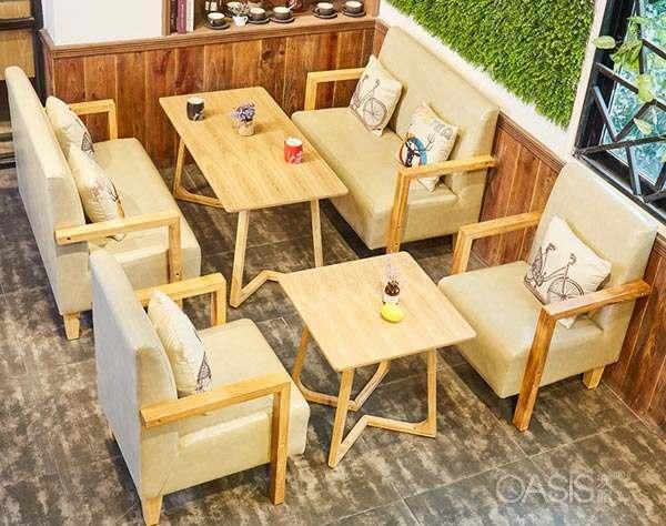 餐厅卡座桌椅