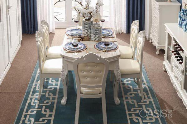 法式餐桌椅