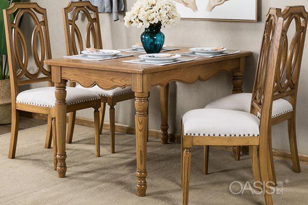 美式餐桌餐椅