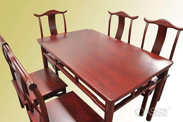 楸木火锅桌椅
