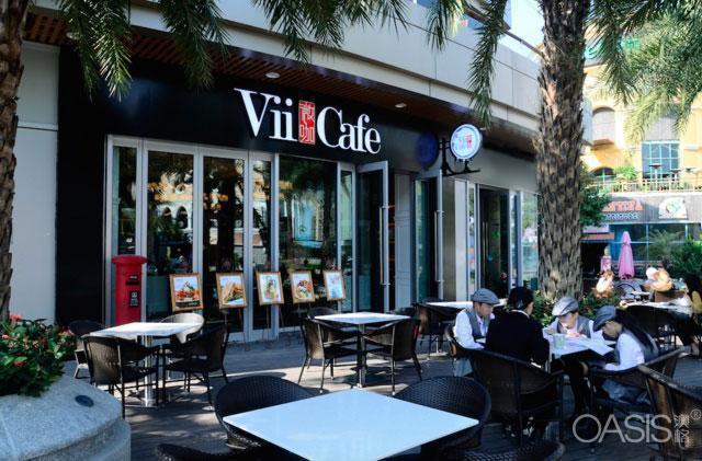 Vii-Café微咖(新港城店)工程案例