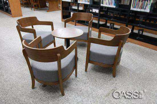 高端定制音乐餐厅桌椅-工程案例