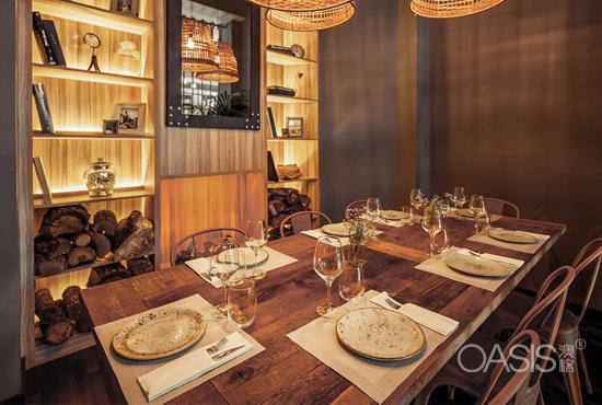 舒适华丽餐厅-工程案例