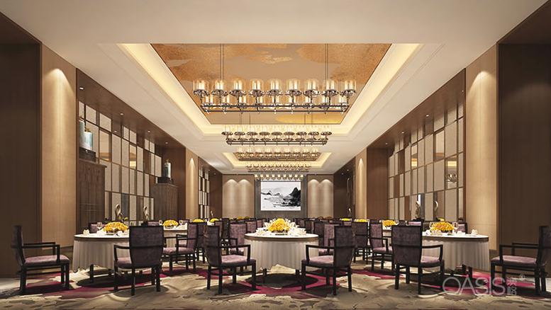 云南悦江中餐厅家具生产案例