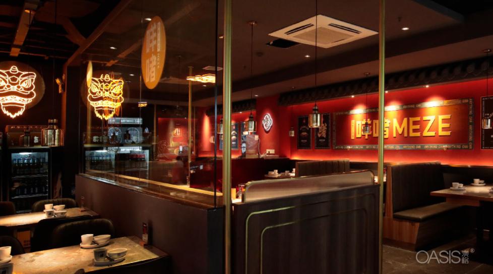 咩啫餐厅家具生产案例