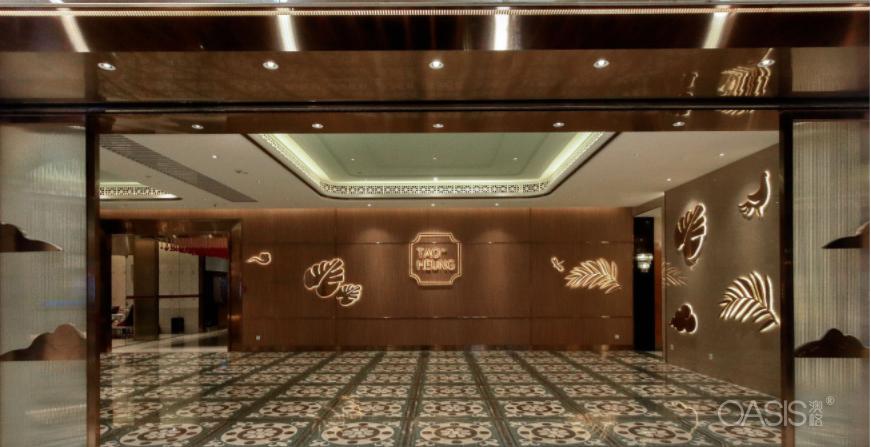稻香中餐厅家具生产案例