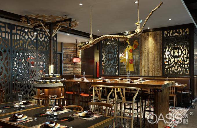 中餐厅灯光如何搭配吸引顾客|中餐厅家具