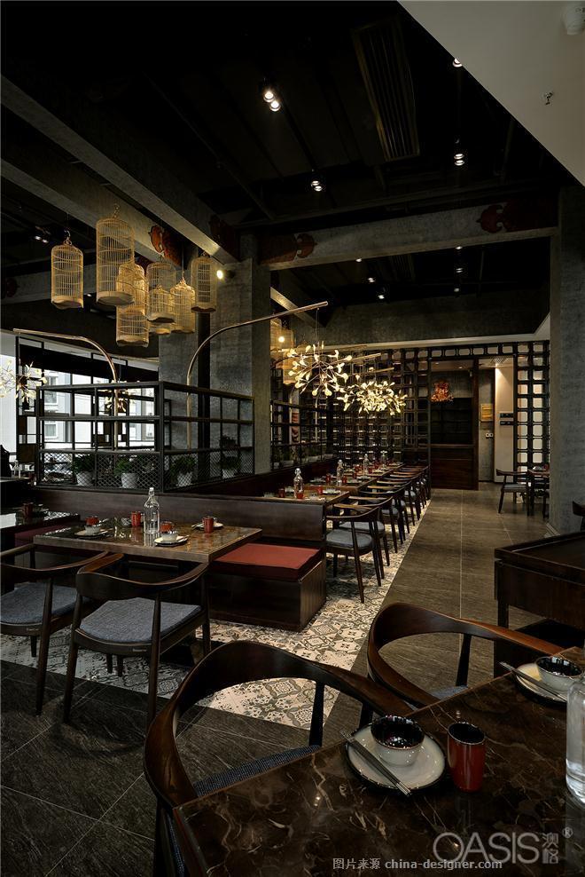 深圳创意餐厅设计如何搭配餐饮家具|澳格家具