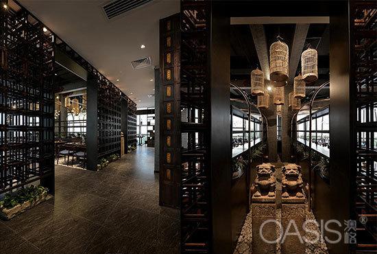 湖南长沙发金牌老碗工程案例餐厅家具定制工厂