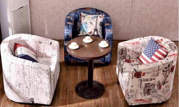 咖啡厅布艺沙发设计理念你知晓吗|餐厅家具