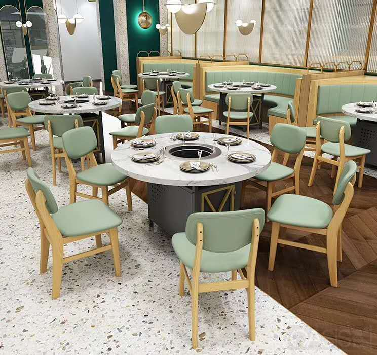 火锅店桌椅如何选实用性更强|餐厅家具