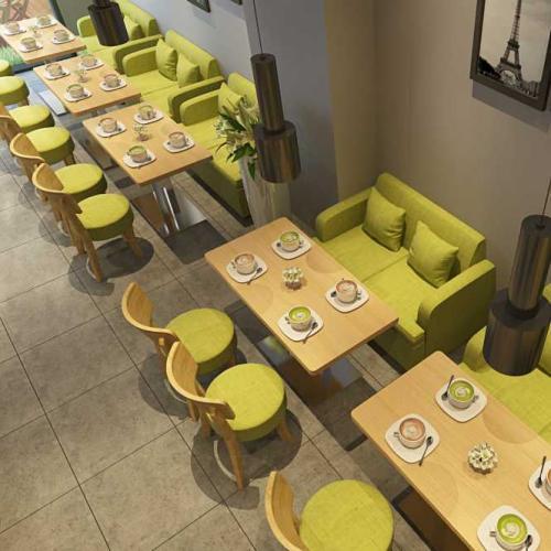 咖啡厅桌椅选购根据空间大小来定制家具