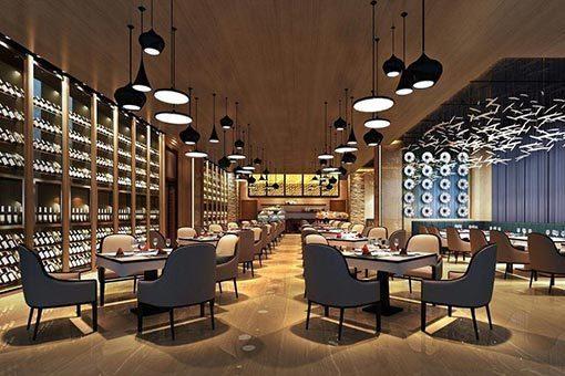 生活中餐厅家具定制整体搭配方案|餐饮家具