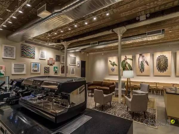 星巴克高端店的桌椅家具厂家订做|餐饮家具
