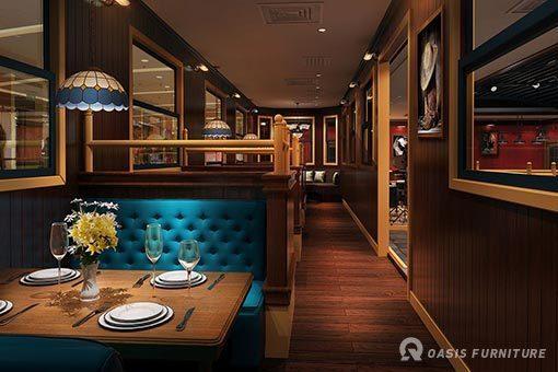 西餐厅桌椅的材质主要有哪些?如何选择呢?