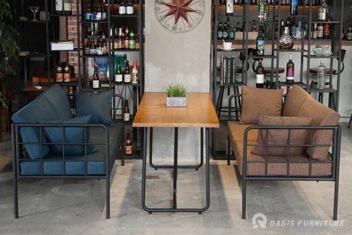教你如何选对实木西餐厅桌椅|餐厅家具