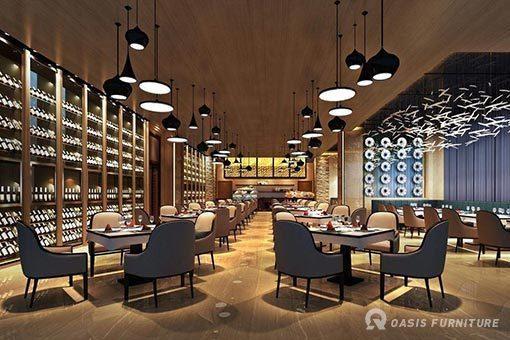 西餐厅设计原则你知晓吗?西餐桌椅布局