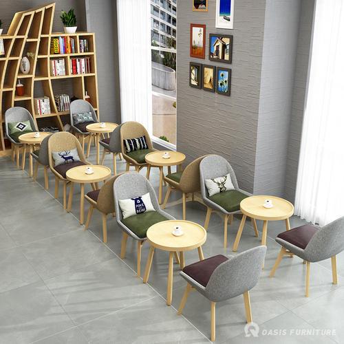 迷人浪漫的咖啡厅餐桌椅如何选择?