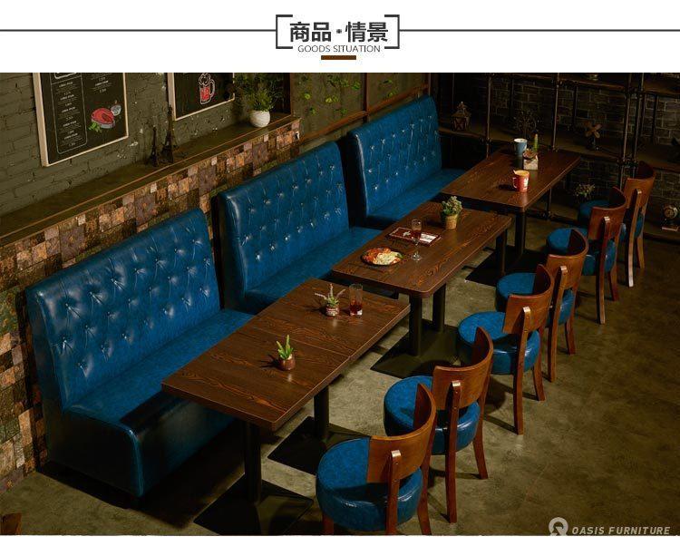 西餐厅家具厂家订制批发餐桌椅有哪些好处