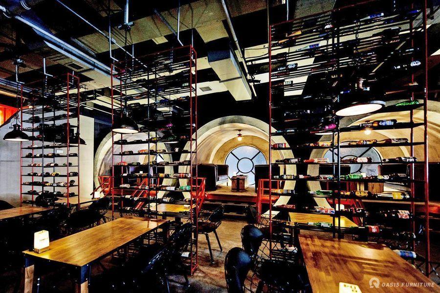 宜宾U9 BEER全球啤酒体验馆家具定制案例