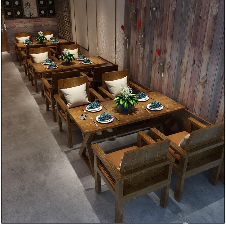 西餐厅家具市场前景发展如何选厂家定制桌椅