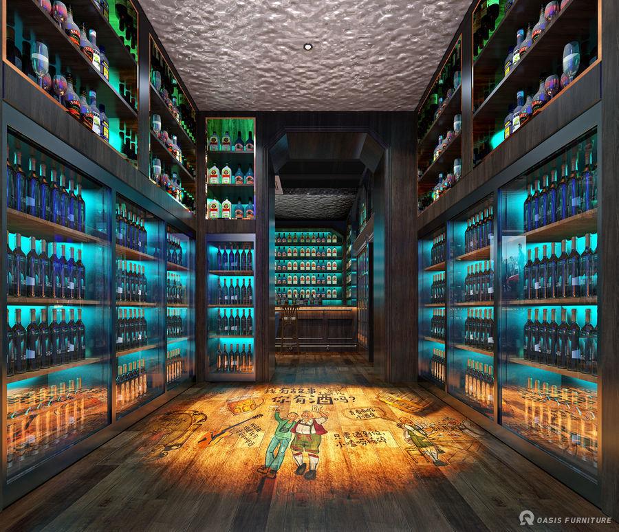 深圳工装酒吧家具定制工程案例