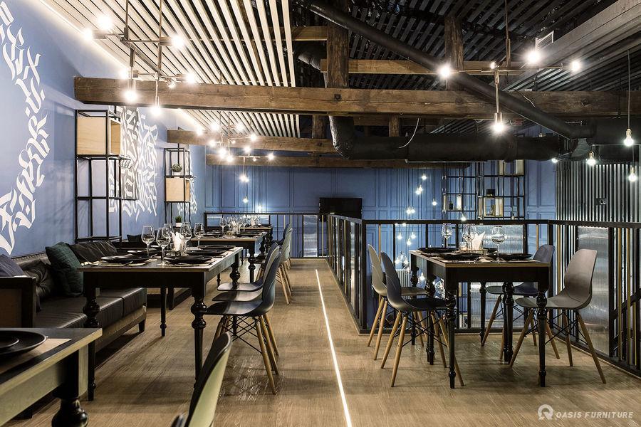 上海工业风酒吧家具定制工程案例