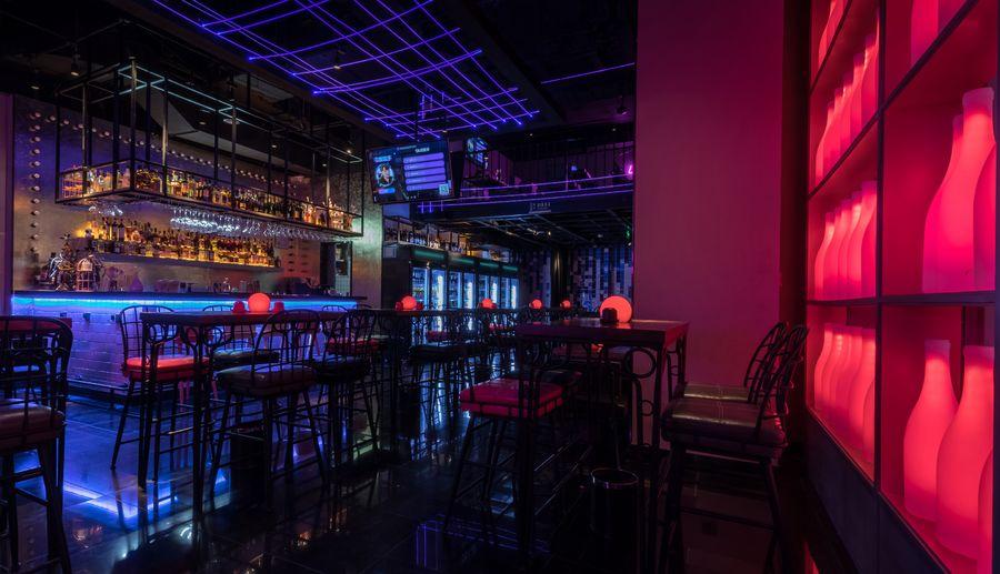 网红音乐酒吧家具定制厂家工程案例