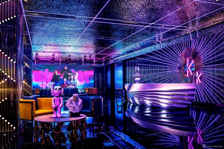 酒吧KTV包间沙发设计定制如何摆放?