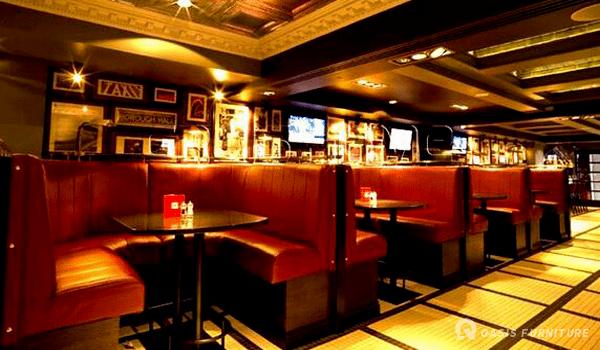 酒吧装修效果图/这种酒吧沙发布局如何?