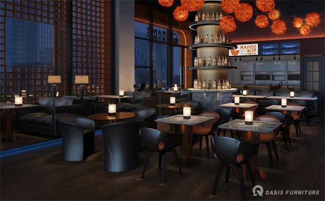 酒吧沙发茶几图片-酒吧沙发定制工艺组成