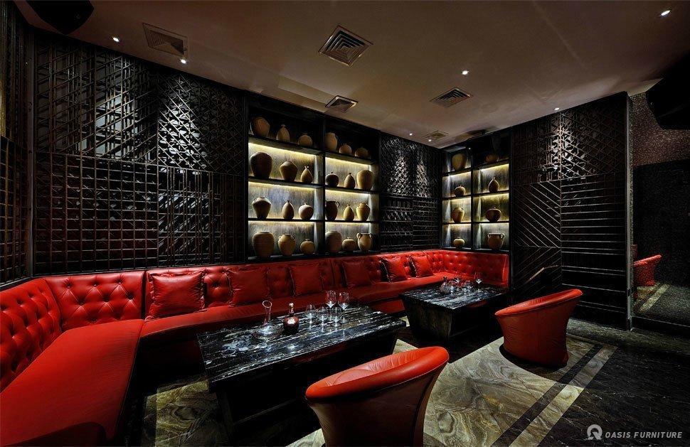 Ktv酒吧装修布局时KTV沙发翻新有哪些利益