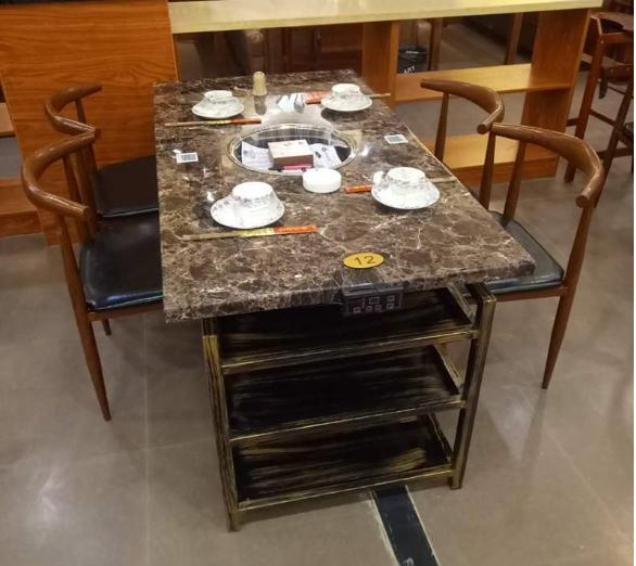 火锅店桌椅8