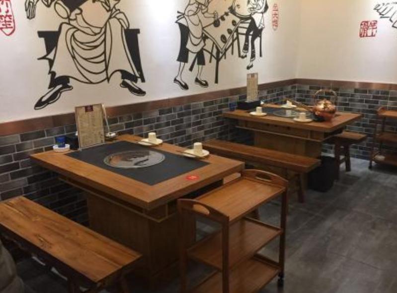 火锅店桌椅1