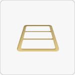 澳格选用铝材表面光泽无波纹