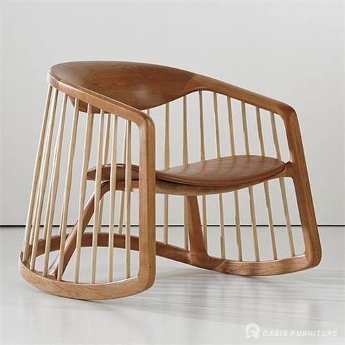 酒吧椅日式火锅店实木餐椅定做