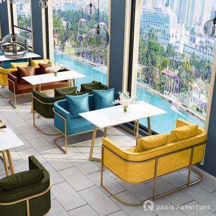 实木咖啡厅桌椅设计如何选择|餐饮家具