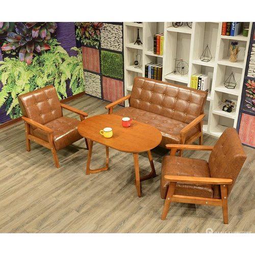 酒吧沙发咖啡厅皮艺沙发