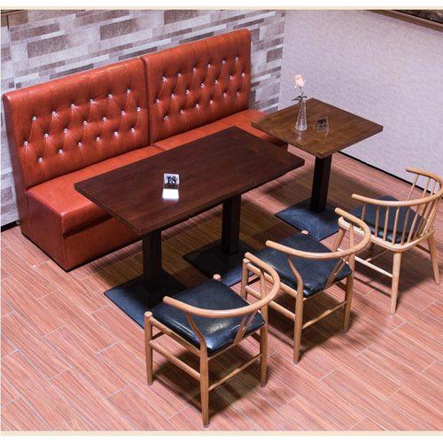 ktv家具实木西餐桌椅